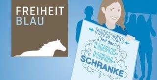 Freiheitblau Logo