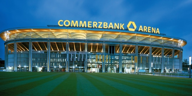 Commerzbank Arena Frankfurt Frontansicht