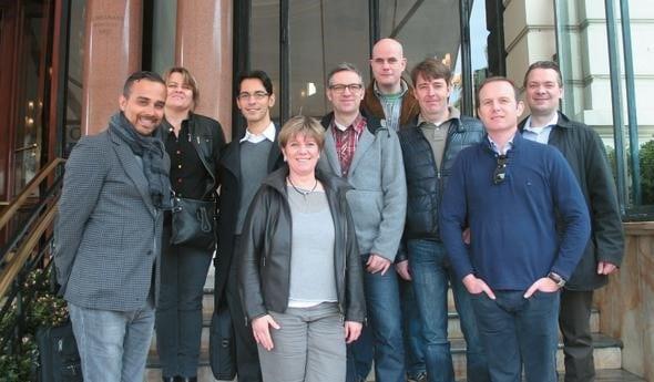 Das Diskussions-Team von FAMABR