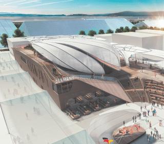 Deutscher Pavillon auf der Expo Milano 2015