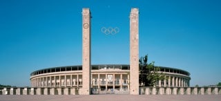 Olympiastadion Berlin Frontansicht