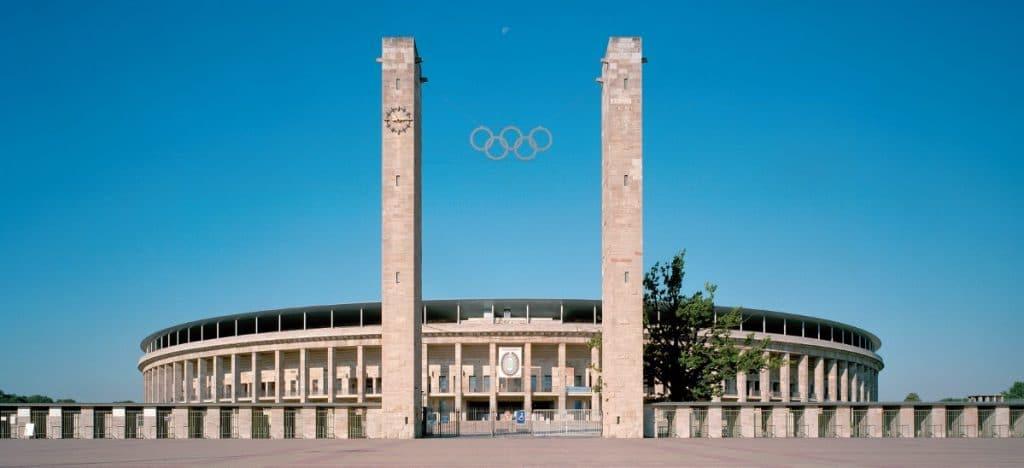 Olympiastadion Berlin Frontansicht