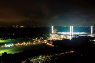 RheinEnergie Stadion Köln Frontansicht