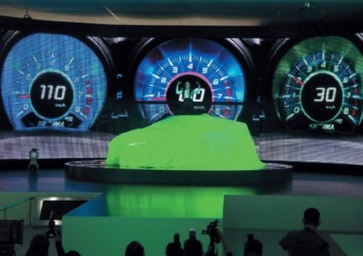 Fahrzeug-Neuvorstellung anlässlich des Genfer Autosalons