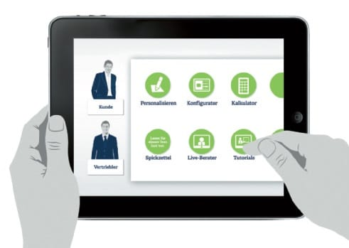 Innovative Vertriebs-App