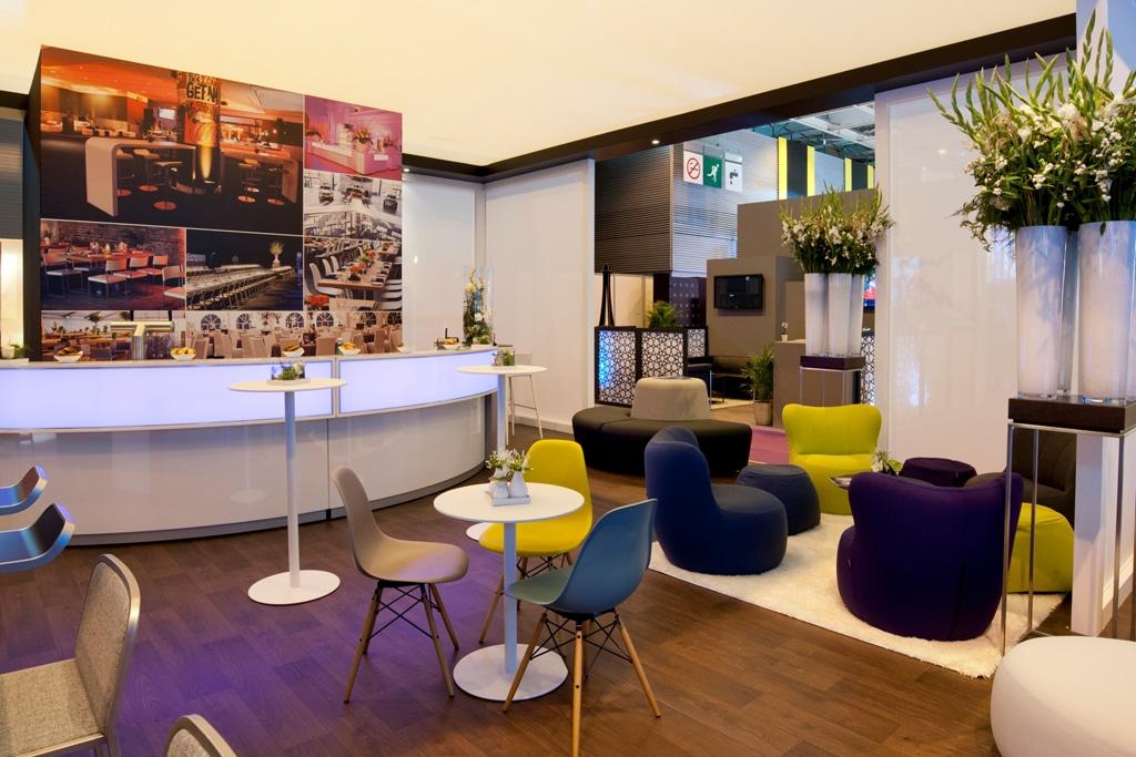 Auf der Leitmesse Heavent Paris stellte Party Rent einen Auszug seines Designsortiments vor.