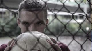 Lukas Podolski ist Botschafter für das Fußball-Jugendhilfeprojekt Rheinflanke.
