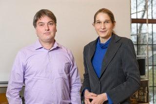 Marcus Leyendecker und Ulrike Ellmann