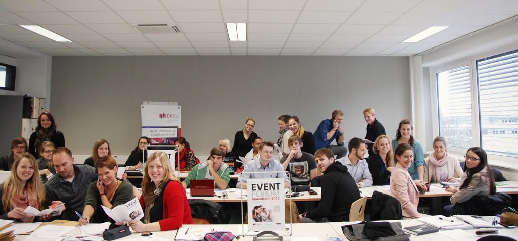 Schüler an der DHBW Mannheim