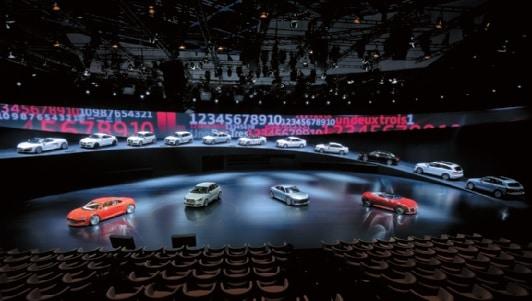 Markenshow beim Audi Händlermeeting 2011 in Monaco