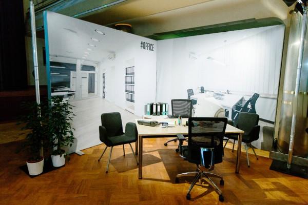 """Darstellung Lebenswelten """"Office"""" anlässlich #SHIFT0115"""
