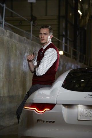 "Nicholas Hoult, Hauptdarsteller des Jaguar Werbespots ""British Intelligence"""