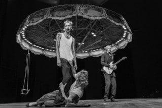 Bühnenbild zu Orpheus steigt herab in den Münchner Kammerspielen