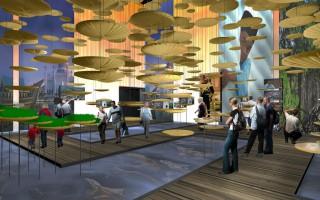 Grafische Ansicht des Pavillons Brunei Darussalam auf der EXPO Milano 2015, konzipiert von gestalt communications