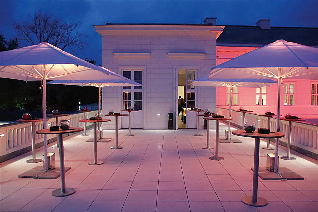 Terrasse im Schloss Herrenhausen