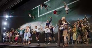 """Das Musical """"Das Wunder von Bern"""" im Stage Theater an der Elbe am 19.11.2014."""