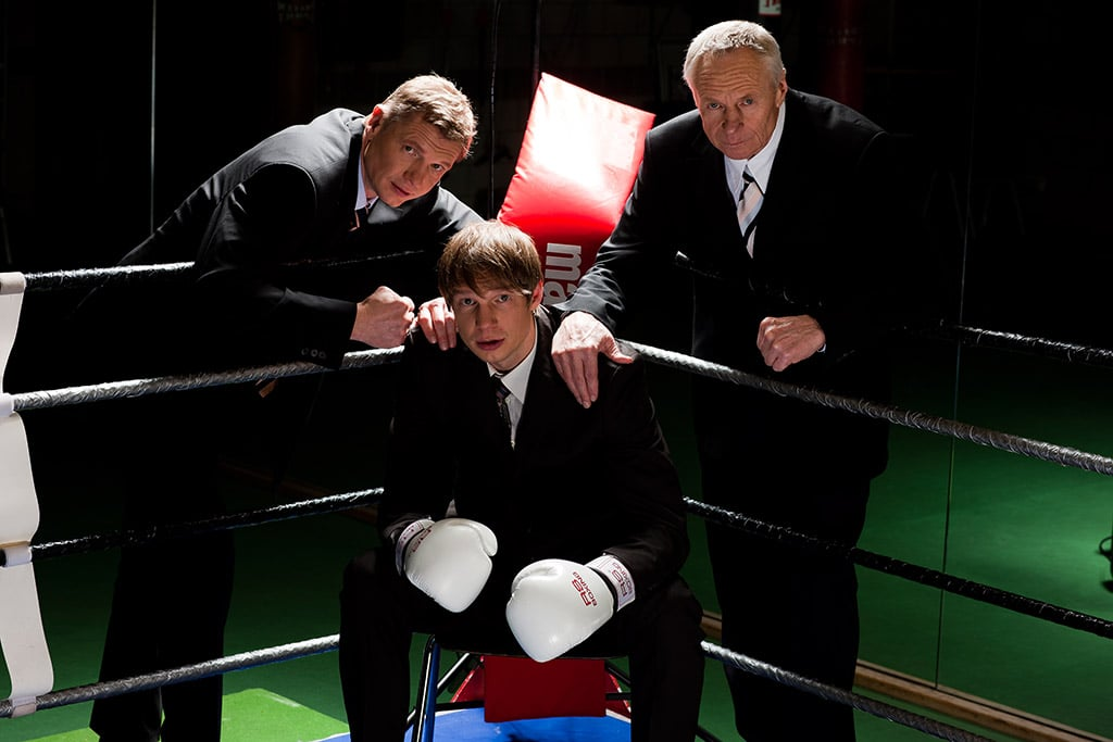 "Torsten May, Rüdiger May und Ulrich May (v.l.) bieten mit ""Maylife Business Boxing"" Boxen als Business Event"
