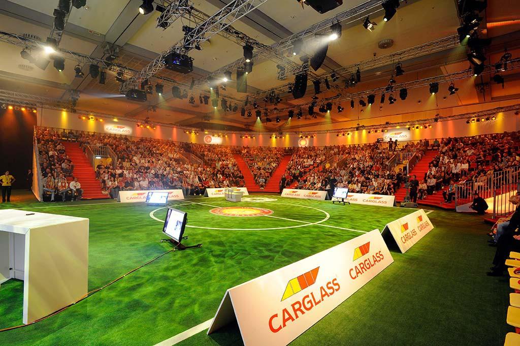 Jahrestagung von Carglass mit 1.650 Teilnehmern im Estrel Berlin