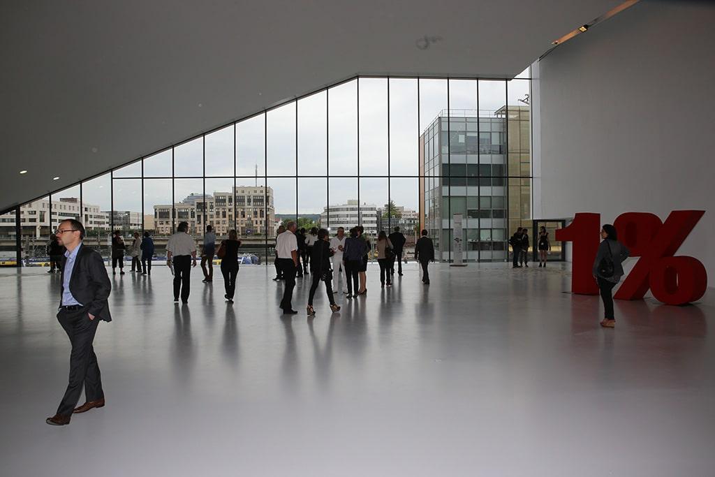 Eröffnung des Centre de Congrès Jean Prouvé