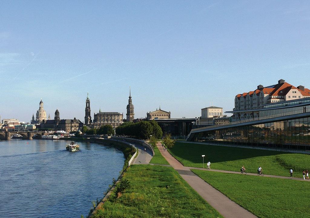 Das Internationale Kongresscenter Dresden