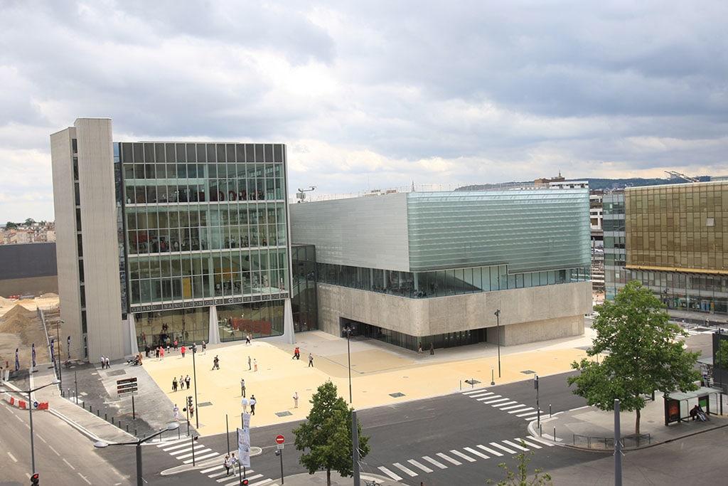Eröffnung des Kongresszentrums Centre Prouvé