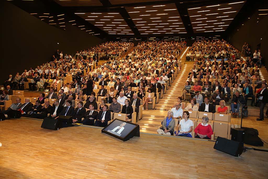 Veranstaltung zur Eröffnung des Centre Prouvé