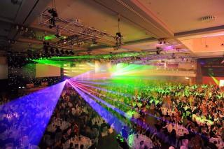 Tagung, Ausstellung und Gala der HanseMerkur Versicherungsgruppe mit 1.000 Gästen im Estrel Berlin