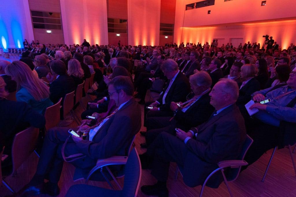 Event Vote im Einsatz bei der Eröffnung des Kap Europas der Messe Frankfurt