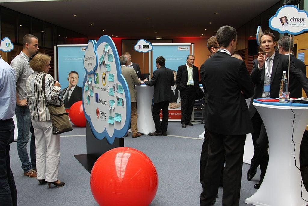 Die Eventagentur Occaseo konzipierte für einen Kunden aus der IT-Branche eine Open Cloud Arena Roadshow im CC Hannover