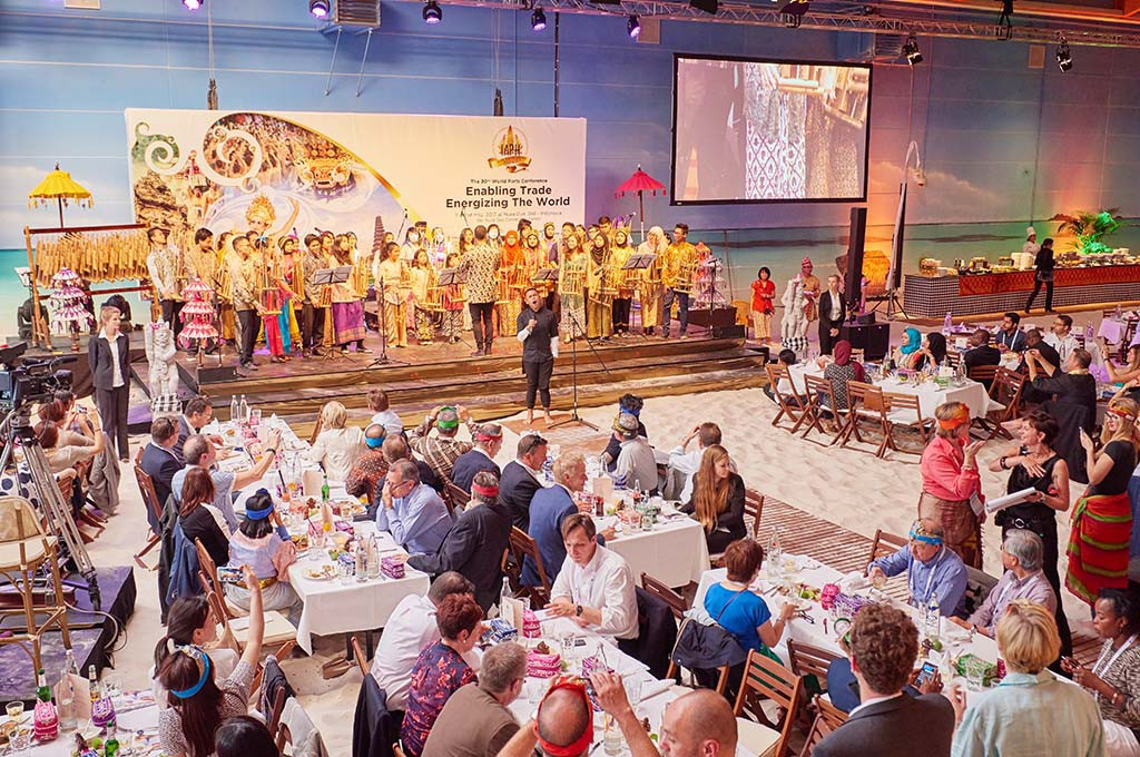 Bali Night bei der World Ports Conference 2015