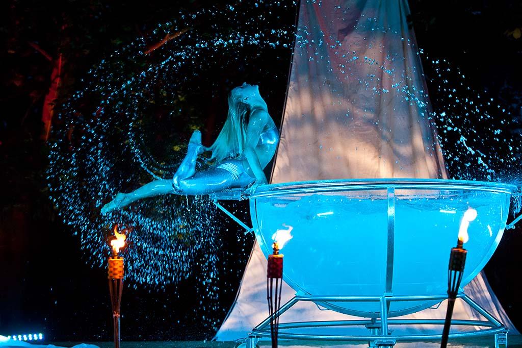 Die spektakuläre Aquatica-Performance von Euroviva