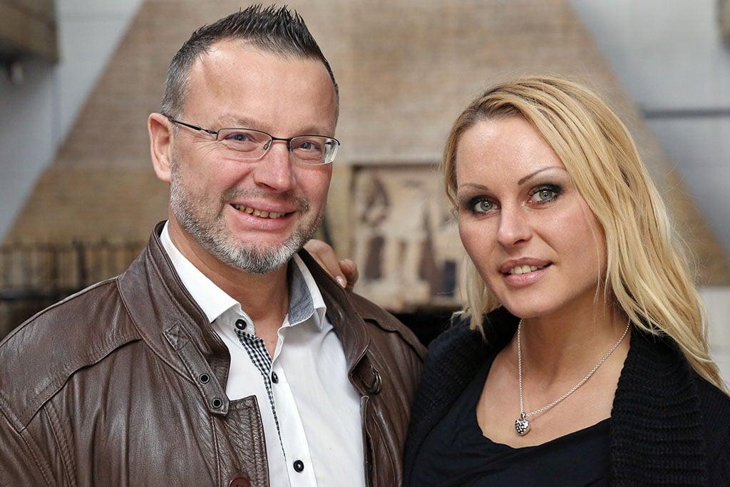 Erhard Fisoler und Natalia Macauley von Euroviva