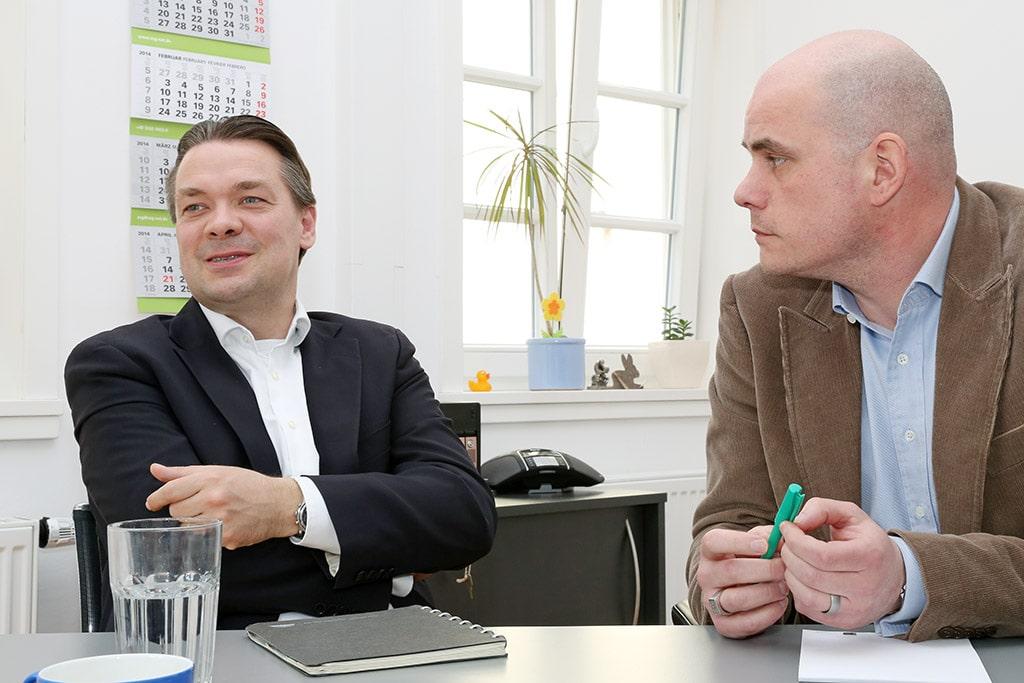 Christian Seidenstücker und Jan Kalbfleisch