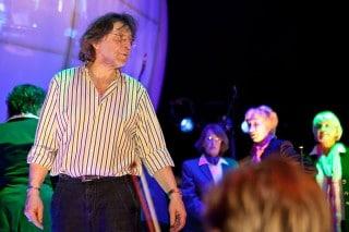 Otmar Demharter bei Proben zum Tollwood Festival