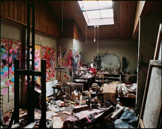Das Atelier von Francis Bacon in der City Gallery in Dublin