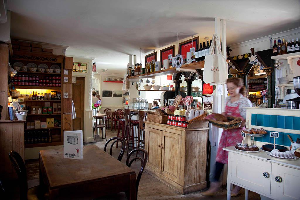 """Das Café und Restaurant """"ArdBia"""" in Galway"""