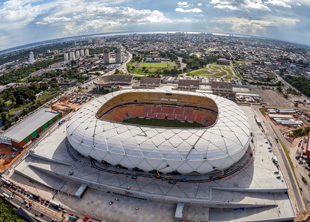 Die Arena da Amazônia in Manaus