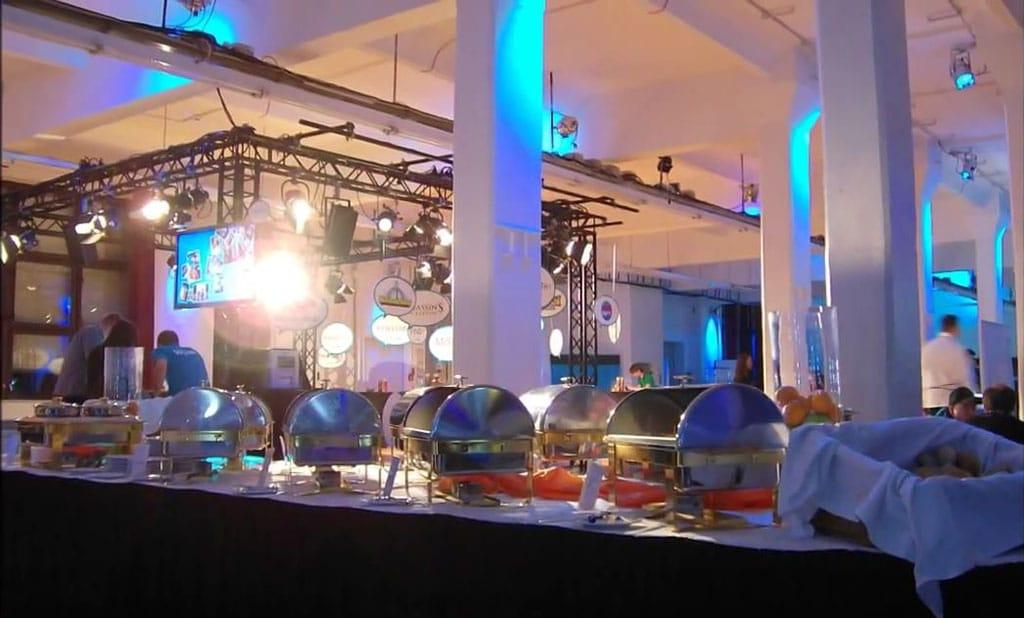 Catering im Loewe Saal