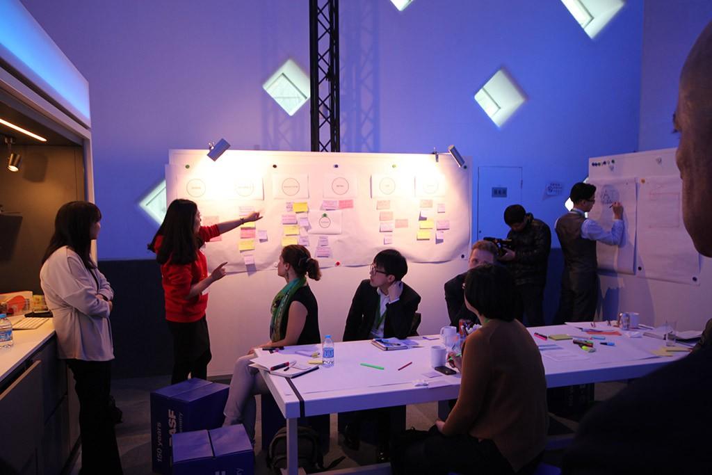 Workshop auf der BASF Creator Space Tour 2015