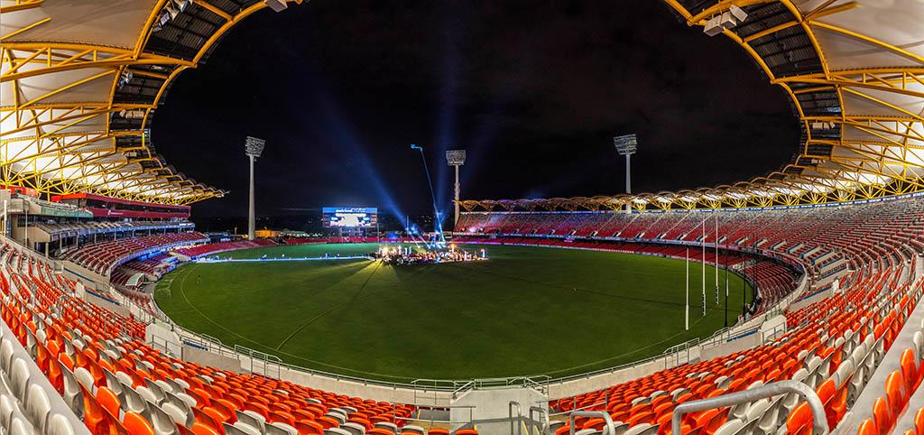 Produkt Launch von Verve Creative Events in einem Stadion