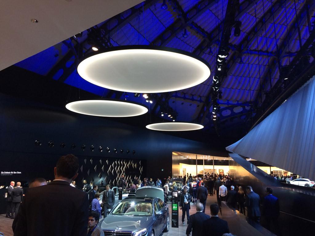 Mercedes Messestand auf der IAA 2015