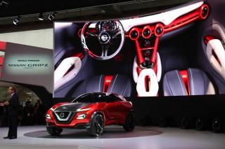 Nissan Gripz Weltpremiere auf der IAA 2015