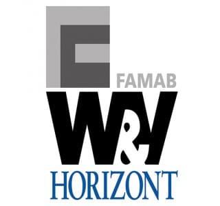 Logos Famab, W&V und Horizont