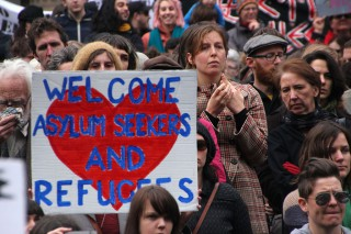 Welcome asylum seekers and refugees