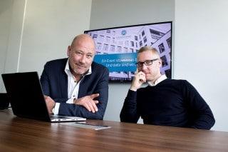 Markus Dalgamoni und Dirk Lensch, Geschäftsführer von Schlüsselerlebnisse