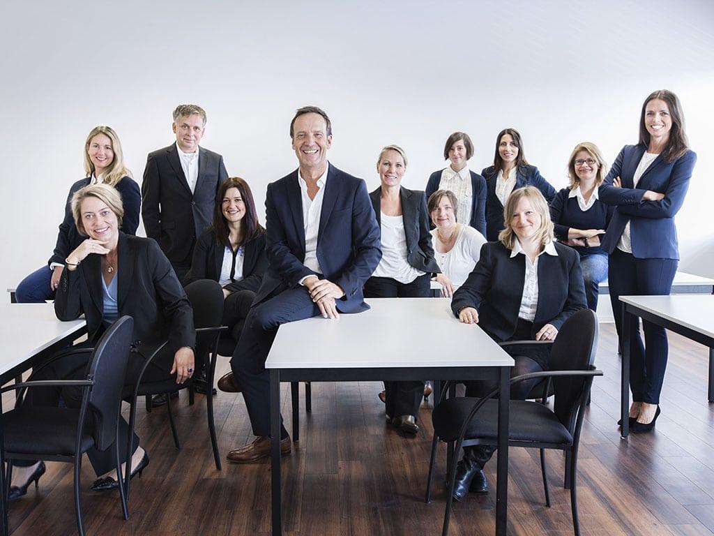 Das Team des Studieninstituts für Kommunikation