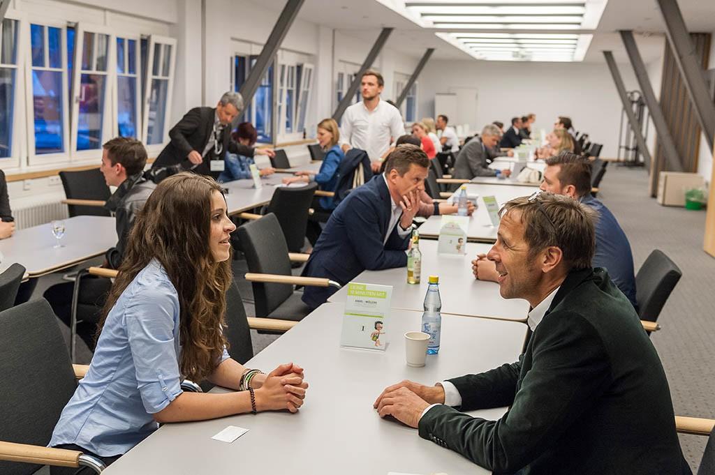 Speed-Dating beim Stuttgarter adday