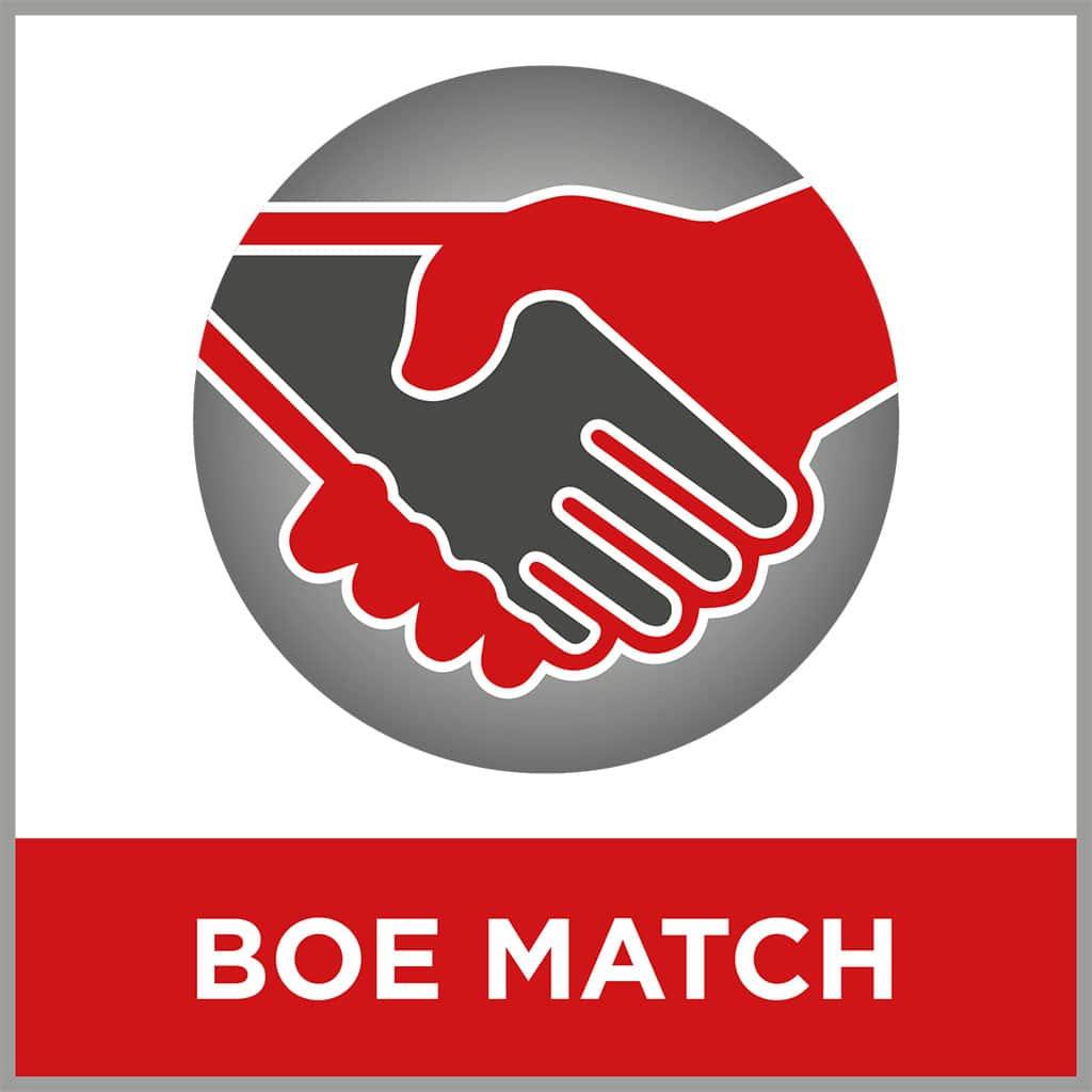 Logo des Matchmaking Tools auf der BOE