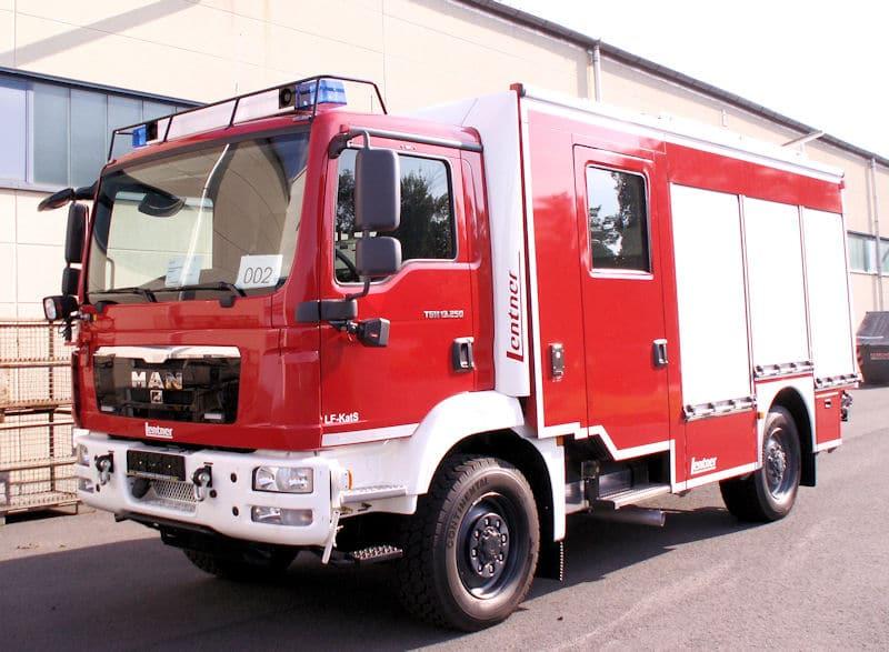 Löschgruppenfahrzeug für den Katastrophenschutz