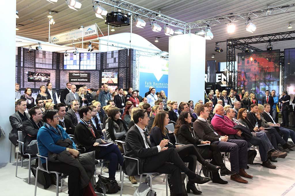 Publikum bei der BOE